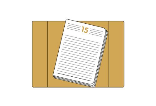 Einlagen für Terminkalender