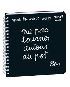 Terminkalender schuljahr Wöchentlich Ben Französisch