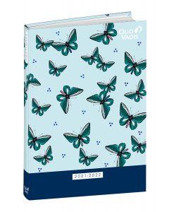 Agendas année scolaire Journalier Butterfly
