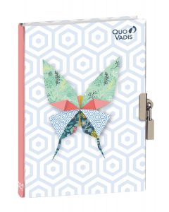 Diaries Lined Butterfly