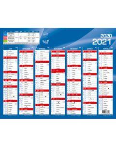 Kalender 7 Monate Französisch