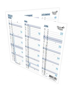 Calendriers 12 mois