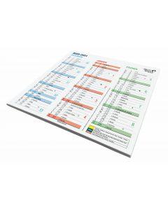 Kalender 12 Monate Französisch