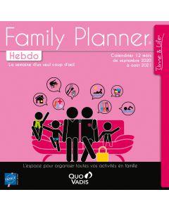 Kalender Monat Family Planner Französisch