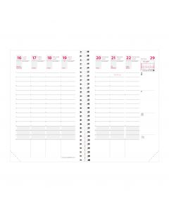 School year planners Weekly French