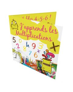 Calendari Multiplications Francese