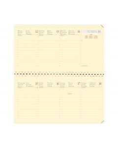 Planner refills Weekly