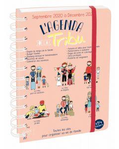 Terminkalender schuljahr 16 Monate Tribu Französisch