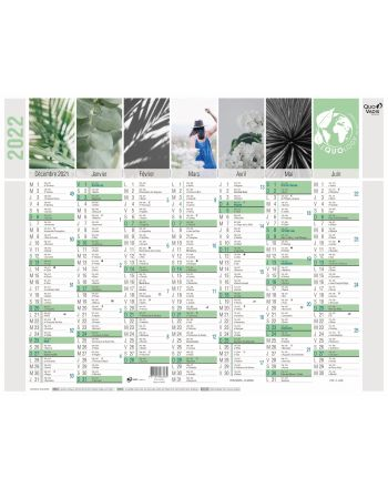 Calendriers 14 mois Equology